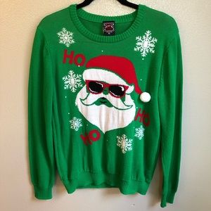 Men's HO HO HO Santa Christmas Sweater